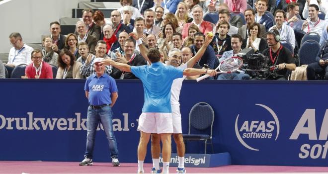 15 jaar AFAS Tennis Classics; feest met een traan